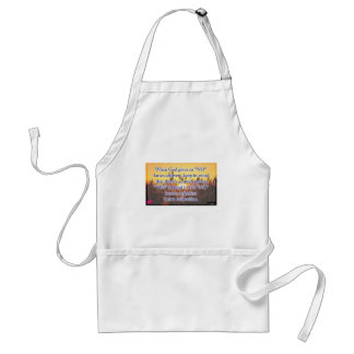 When God Gives Us A No Adult Apron