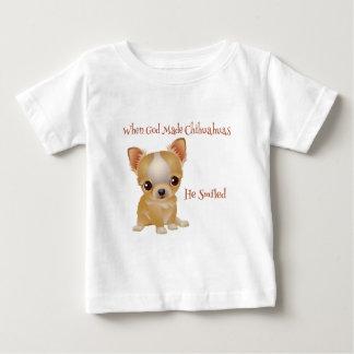 When God Made Chihuahuas Baby T-Shirt