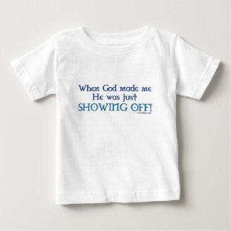When God Made Me T-Shirt