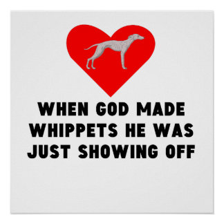 When God Made Whippets Poster