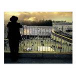 When God visit his People Postcard