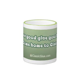 """When good glue goes bad..."" slogan Mug"