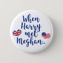 When Harry met Meghan | Fun Royal Wedding Button