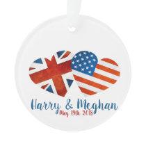 When Harry met Meghan Ornament