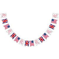 When Harry met Meghan | Royal Wedding Celebration Bunting Flags