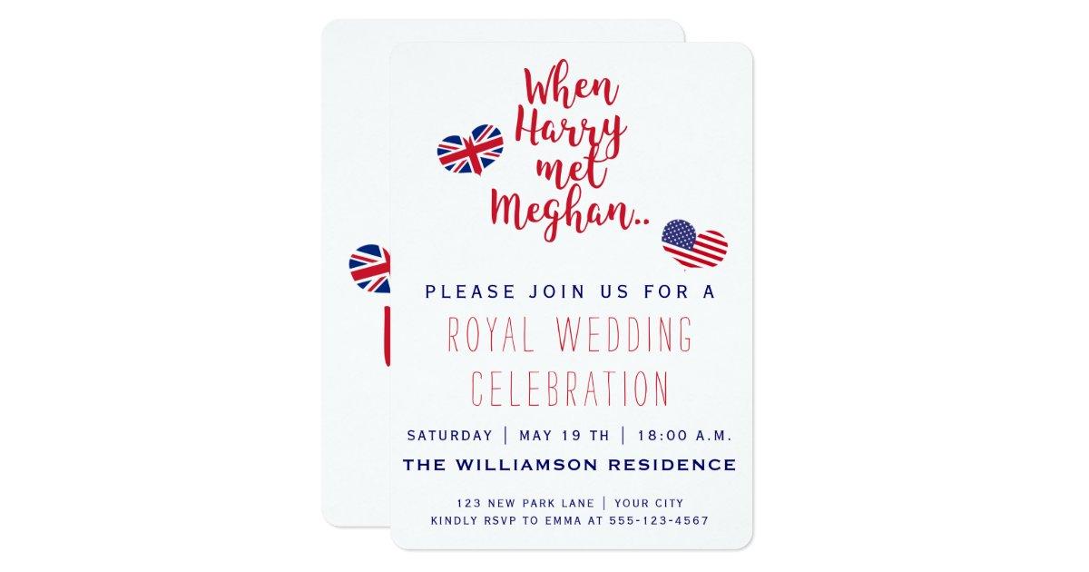 Royal Wedding Invitation Wording: Royal Wedding Invitation