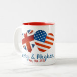 """When Harry met Meghan Two-Tone Coffee Mug<br><div class=""""desc"""">When Harry met Meghan ... . It&#39;s official: Prince Harry popped THE question and put a ring on it! It&#39;s going to be a spring wedding.</div>"""