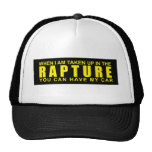 When I Am Taken Up In The Rapture... Hat