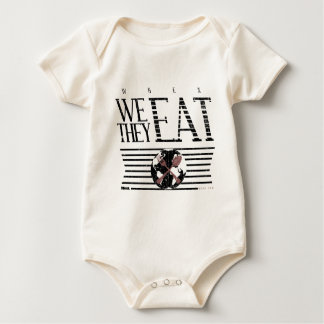 WHEN I EAT, THEY EAT BABY BODYSUIT