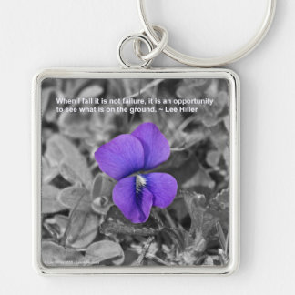 When I fall it is not failure... Keychain