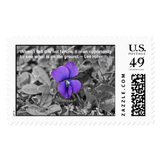 When I fall it is not failure... USPS Stamps