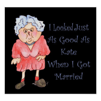 When I Got Married Funny Humorous Poster Print