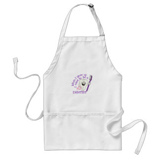 When I Grow Up Adult Apron