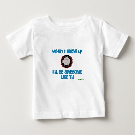 When I grow up - Baby Baby T-Shirt