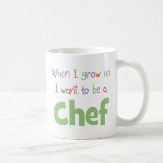 When I Grow Up Chef Coffee Mug