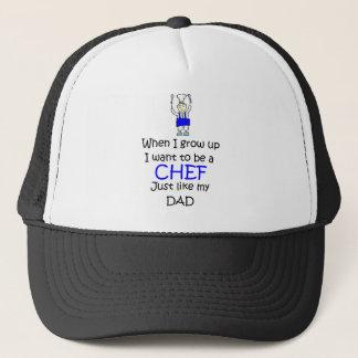 When I grow up Chef Trucker Hat