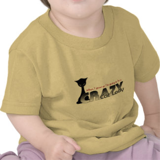 When I grow Up... Crazy Cat Lady in Training T-shirt