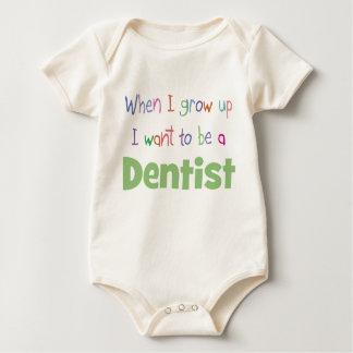When I Grow Up Dentist Baby Bodysuit