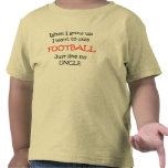 When I grow up Football text only T Shirt