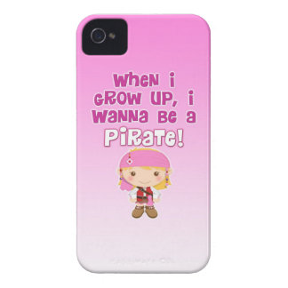 When I Grow Up, I Wanna Be a Pirate Blackberry Bold Cases