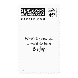 When I grow up I want to be a Butler Stamps