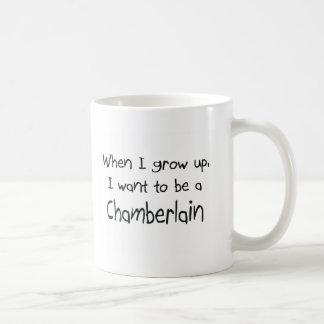 When I grow up I want to be a Chamberlain Coffee Mug