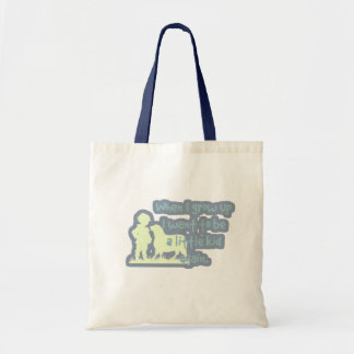 When I grow up I want to be a little kid again... Tote Bag