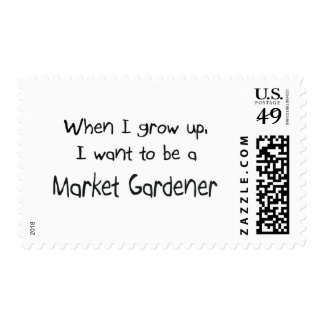 When I grow up I want to be a Market Gardener Postage