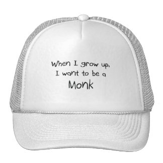 When I grow up I want to be a Monk Hats