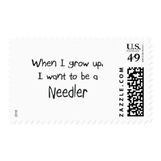 When I grow up I want to be a Needler Stamp