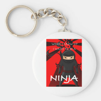 When I grow up I want to be a Ninja Keychain