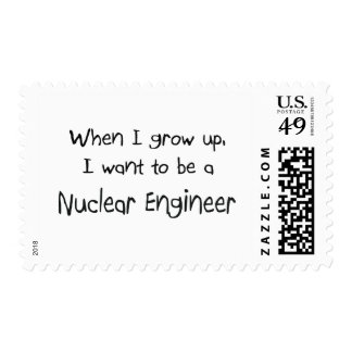 When I grow up I want to be a Nuclear Engineer Postage