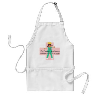When I grow up, I want to be a Nurse Adult Apron