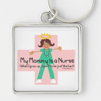 When I grow up, I want to be a Nurse Keychain