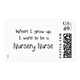 When I grow up I want to be a Nursery Nurse Stamps