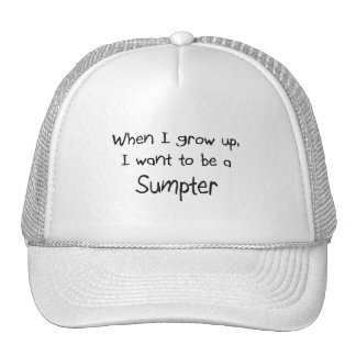 When I grow up I want to be a Sumpter Trucker Hats