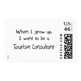 When I grow up I want to be a Tourism Consultant Postage Stamps