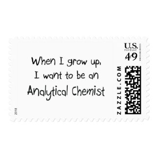 When I grow up I want to be an Analytical Chemist Stamps