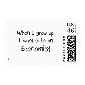 When I grow up I want to be an Economist Postage Stamp