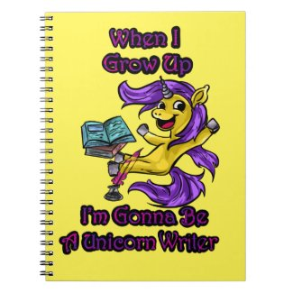 When I Grow Up I'm Gonna Be - Spiral Notebook