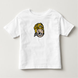 When I Grow Up I'm Playing Hockey Yellow Helmet Toddler T-shirt