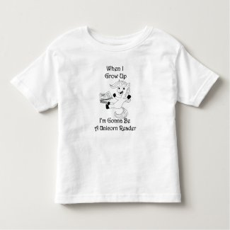 When I Grow Up...Kid's Tee - BL