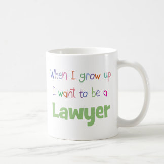 When I Grow Up Lawyer Coffee Mug