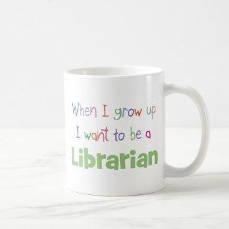 When I Grow Up Librarian Coffee Mug