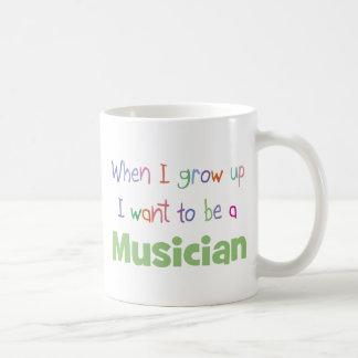 When I Grow Up Musician Coffee Mug