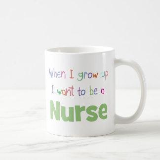 When I Grow Up Nurse Coffee Mug