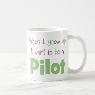When I Grow Up Pilot Coffee Mug