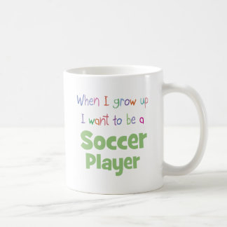 When I Grow Up Soccer Player Coffee Mug