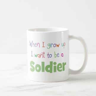 When I Grow Up Soldier Coffee Mug