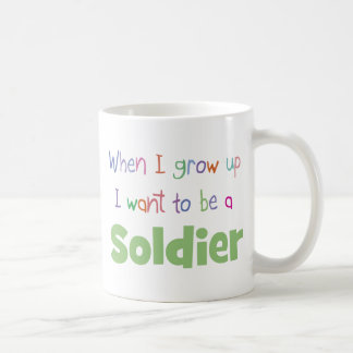 When I Grow Up Soldier Mugs